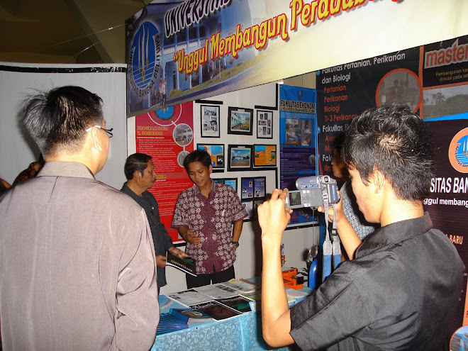 Pameran Pembangunan Belitung Expo 2007 (Darus Altin)