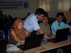 Pelatihan Master Trainer Intel Guru-Guru Daerah Tertinggal Provinsi Kep. Babel (Darus Altin)