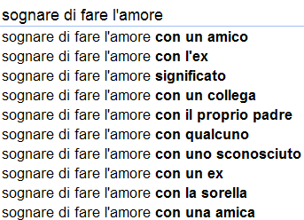 come fate l amore ricerca single