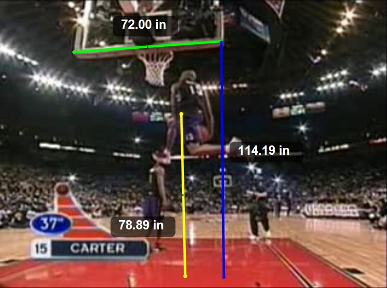 Gallery For > Vince Carter Dunk Contest 2001