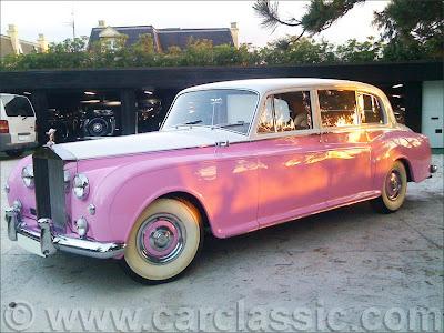 Elton John's pink Rolls Royce Phantom V
