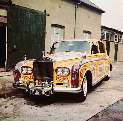 John Lennon's 1965 Rolls Royce Phantom V is a bit of a famous car.