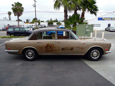 Ray Mumford Rolls Royce Silver Shadow Art Car