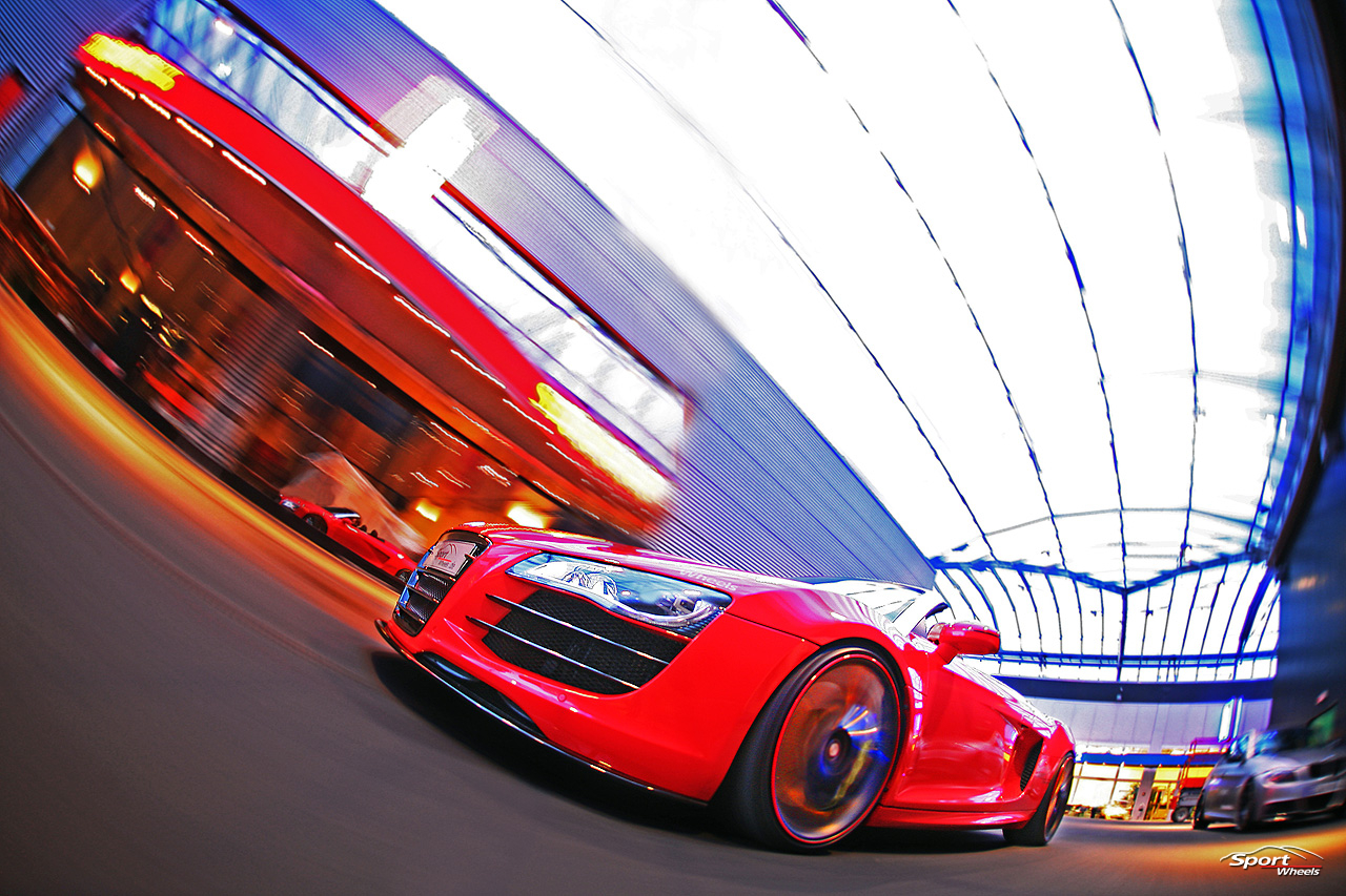 dominixcars Audi R8 Spark 10 Spyder custom by Sport Wheels