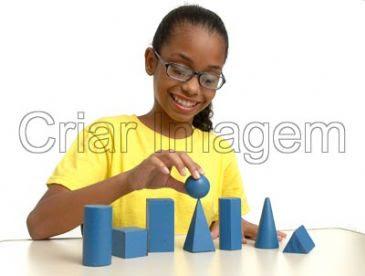 Várias formas geométricas