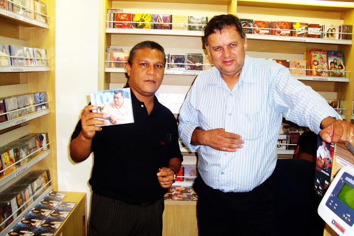 Pr; Jorge Freitas e o cantor Cícero norgueira