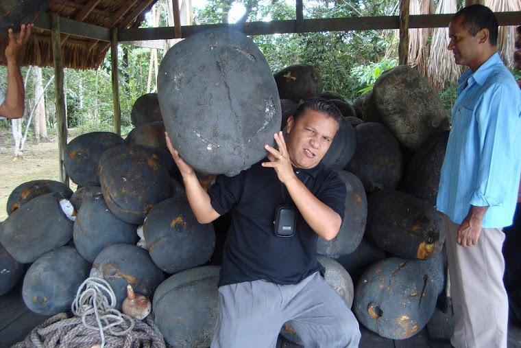 Em uma das minhas viagem missionário no Amazonas