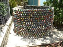 Tanque de botellas plásticas
