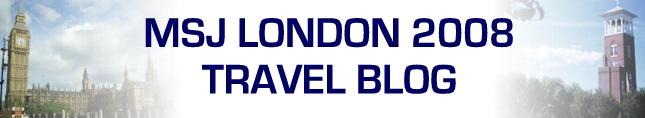 MSJ London Trip 2008