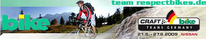 Team respectbikes.de - Transgermany 2009