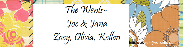 The Wents- Joe, Jana, Zoey, Olivia and Kellen