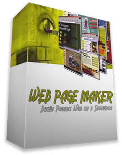 تحميل تنزيل برنامج تصميم صفحات الويب Web Page Maker برابط مباشر