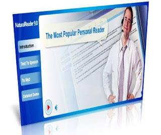 تحميل تنزيل برنامج لقراءة النصوص Natural Reader 9 برابط مباشر