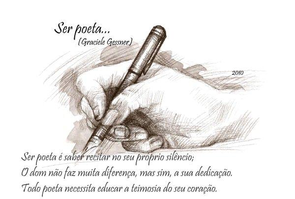 Ser Poeta... (Graciele_Gessner)