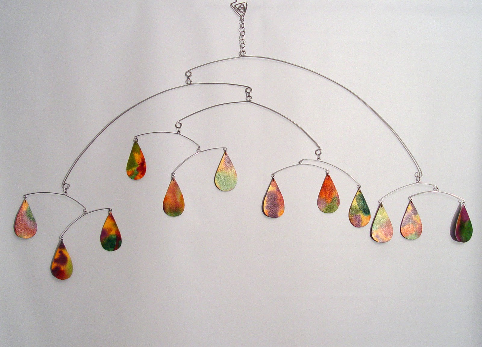 Watercolor Paintings and Mobiles by Carolyn Weir: January 2011