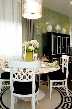 COCOCOZY DESIGN IDEA WHITE LACQUER DINING CHAIRS