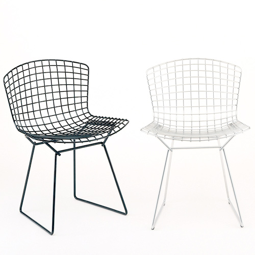 Two Bertoia Side Chairs