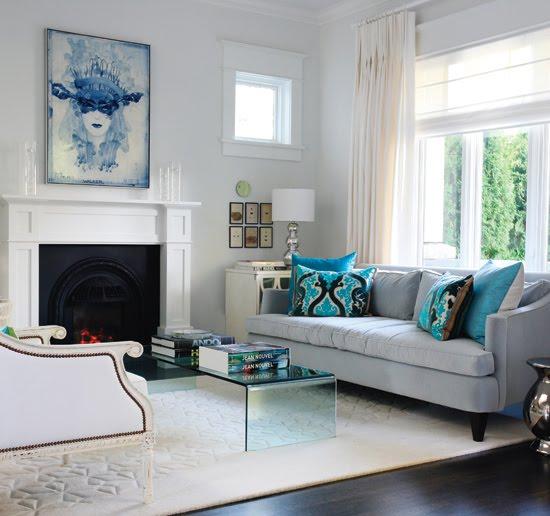 Къщата на Александър Уилиямс Modern-classic-living-room