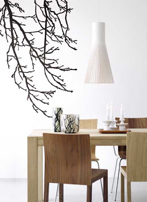 Black branch wall sticker from Ferm Living
