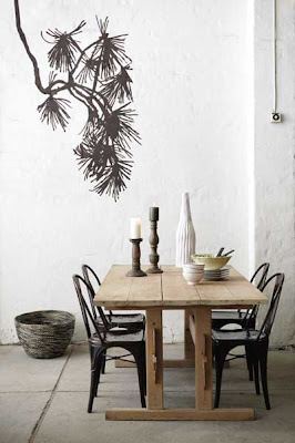 Pine tree wall sticker from Ferm Living