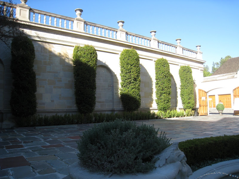 Greystone Estate's main courtyard