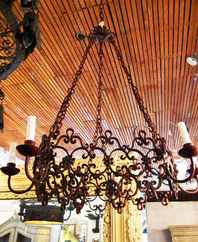 Wrought Iron Chandeliers from LightingDirect