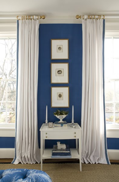 What Color Curtains Go With Blue Walls What Color Compliments