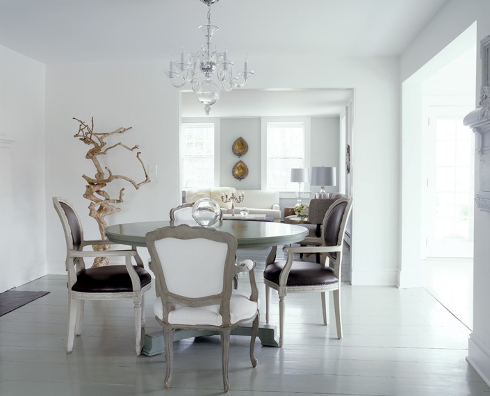 cococozy color watch winter white rooms white dining room with