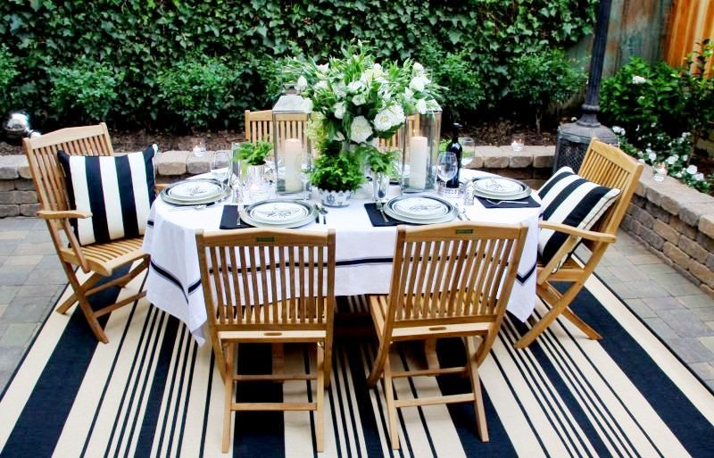 Bringing The Indoors Out Patio Entertaining At Its Best