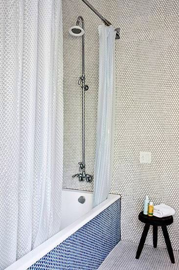 COCOCOZY: TILE FILE: A PENNY ROUND FOR YOUR BATHROOM DECOR THOUGHTS!