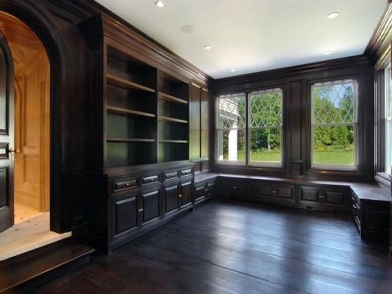 Dark Wood Paneling ~ See this house a million hamptons where wood