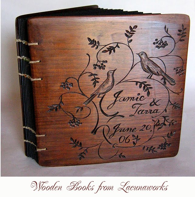 Diy Wooden Book Cover : Artnlight wooden book covers by lacuna works