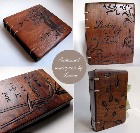 Wood Book Cover Material : Artnlight wooden book covers by lacuna works