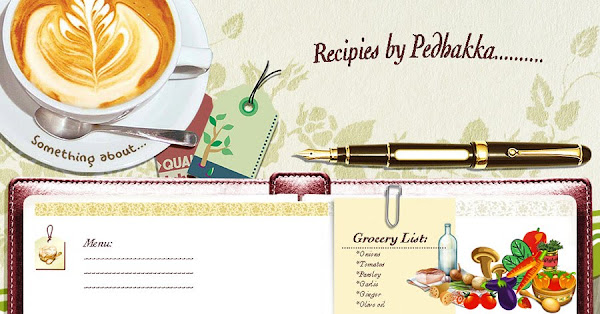 Recipes by Pedhakka