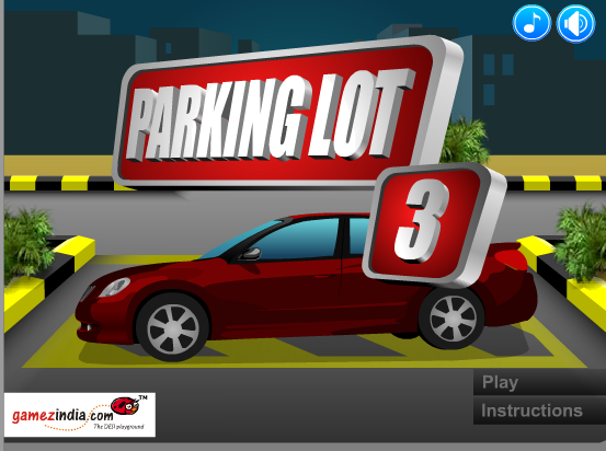 racing parking games
