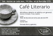 CONOCÉ EL CAFÉ LITERARIO DEL B.T.E.