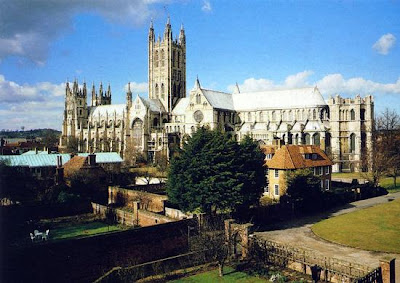A-of Canterbury Cathedral ... hosts Anglican primates at Canterbury Cathedral for emergency summit