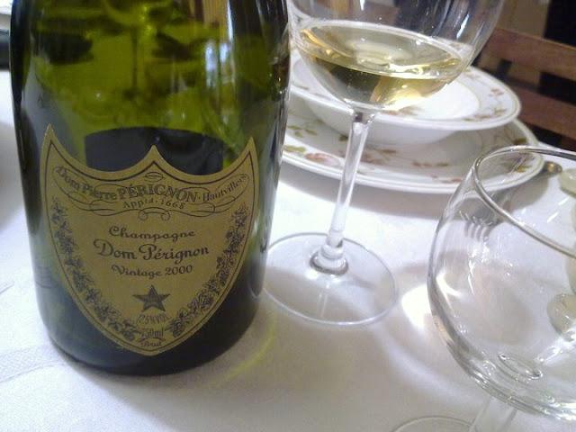 bottiglia  di champagne  Dom Pérignon Vintage 2000