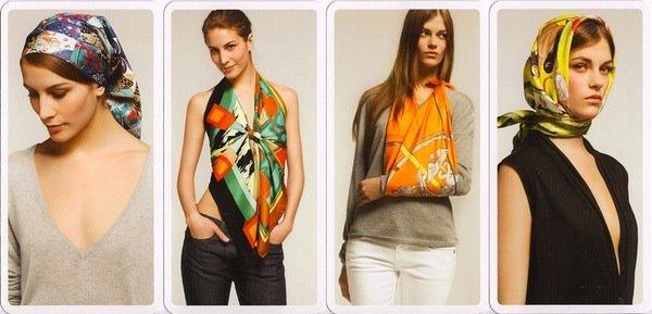 by the way comment bien nouer son foulard herm s. Black Bedroom Furniture Sets. Home Design Ideas