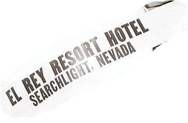 El Rey Resort Hotel Sash