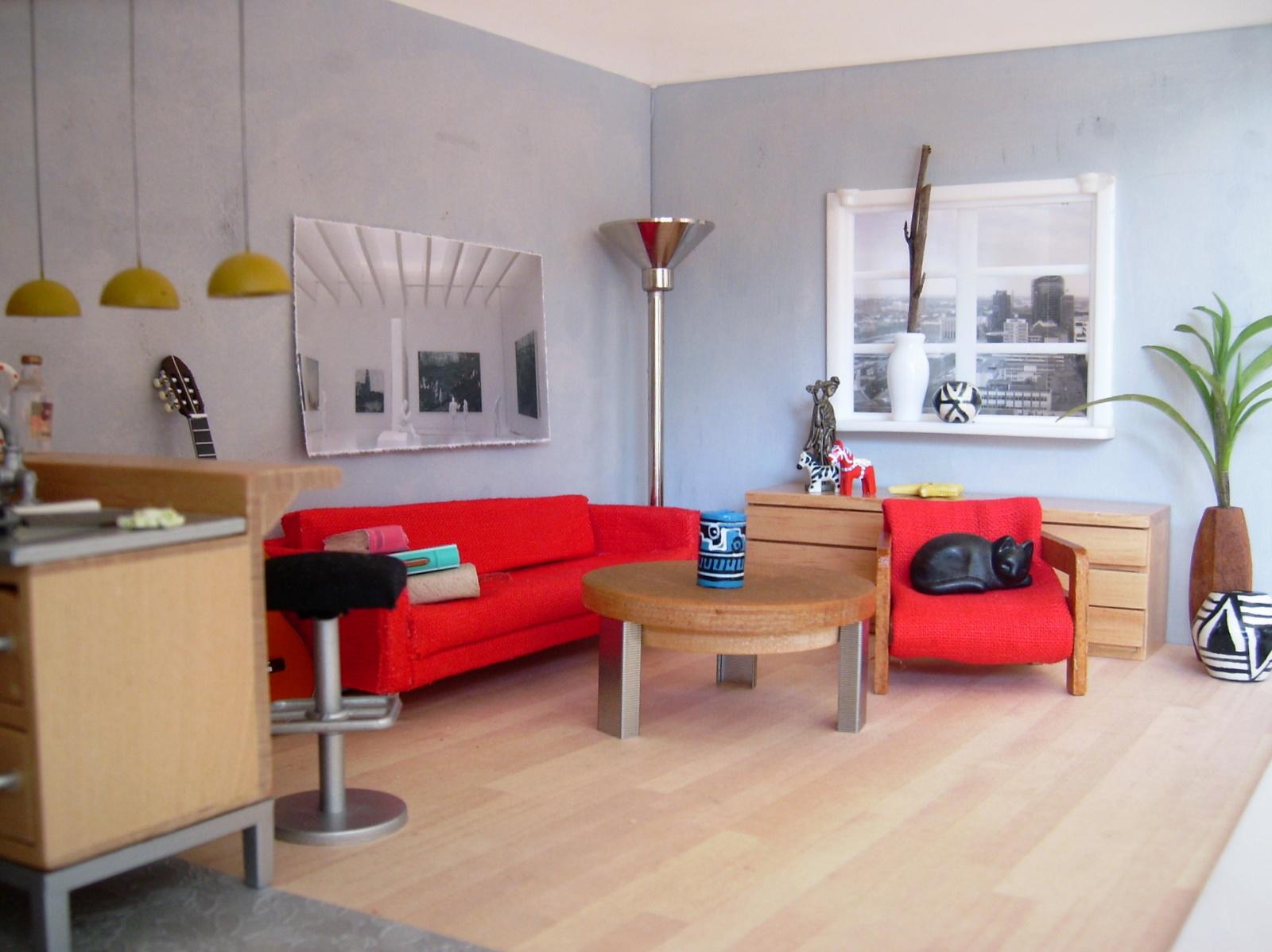 raum f r raum das rote sofa the red sofa. Black Bedroom Furniture Sets. Home Design Ideas