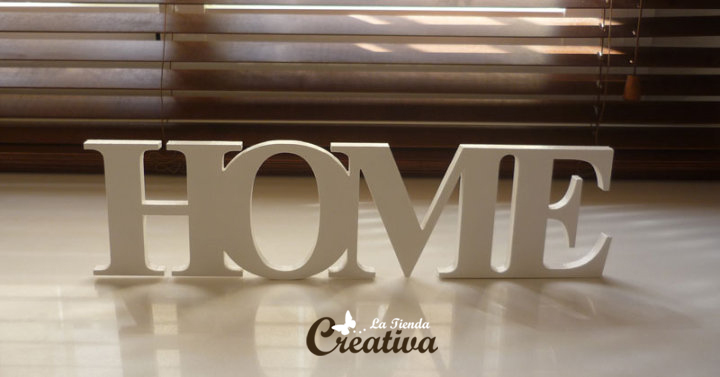 Decoracion Letras Home ~ Creativa  Letras para decorar y mucho m?s Letras de madera  HOME