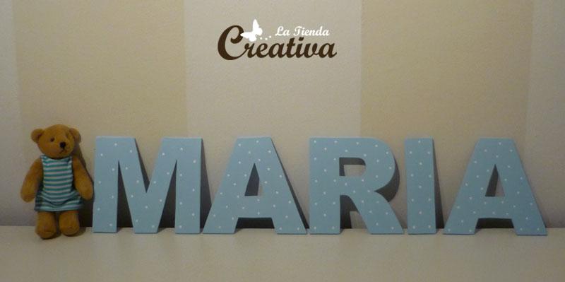La tienda creativa letras para decorar y mucho m s diciembre 2010 - Casa letras madera ...