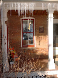 Icicles, the poor man's chandelier