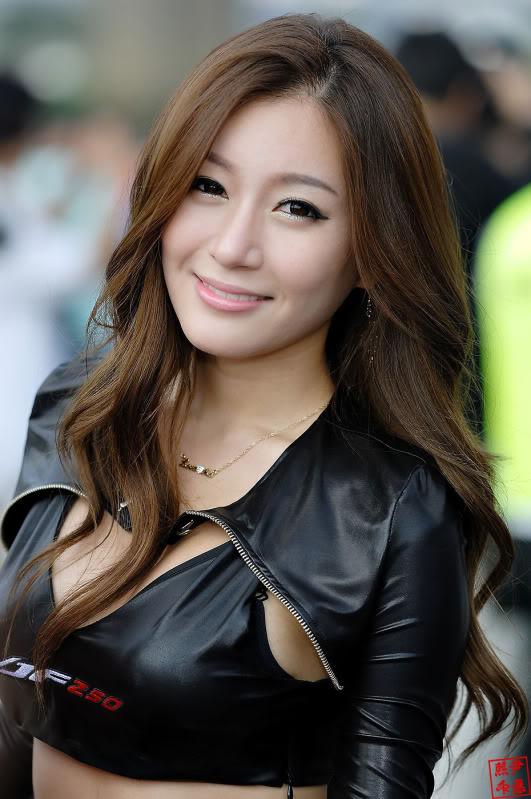 Han ji Eun Race Queen Han ji Eun อีกหนึ่ง Race Queen