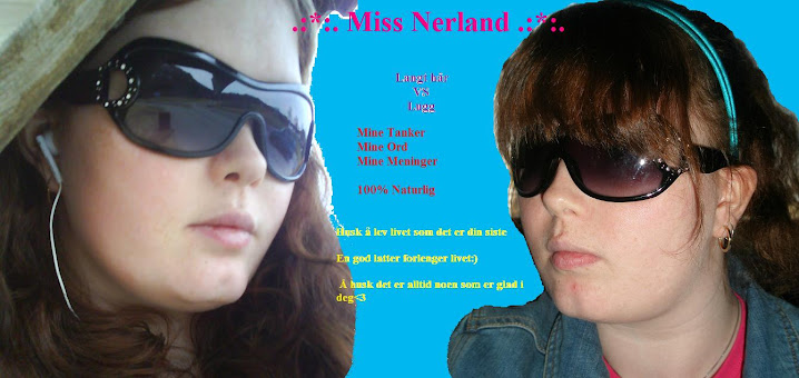 .:*:. Miss Nerland .:*:.