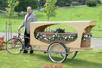 bicycle hearse cycling memorial