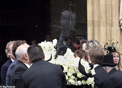 Isabella Blow Funeral procession
