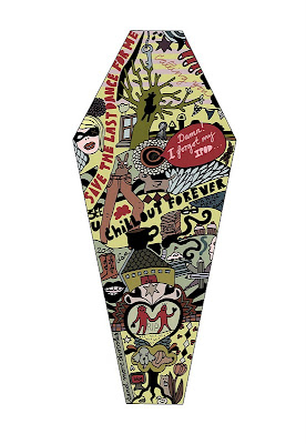 toe pincher art coffin