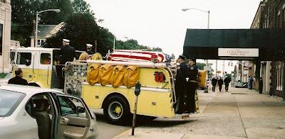 fireman funeral ritual